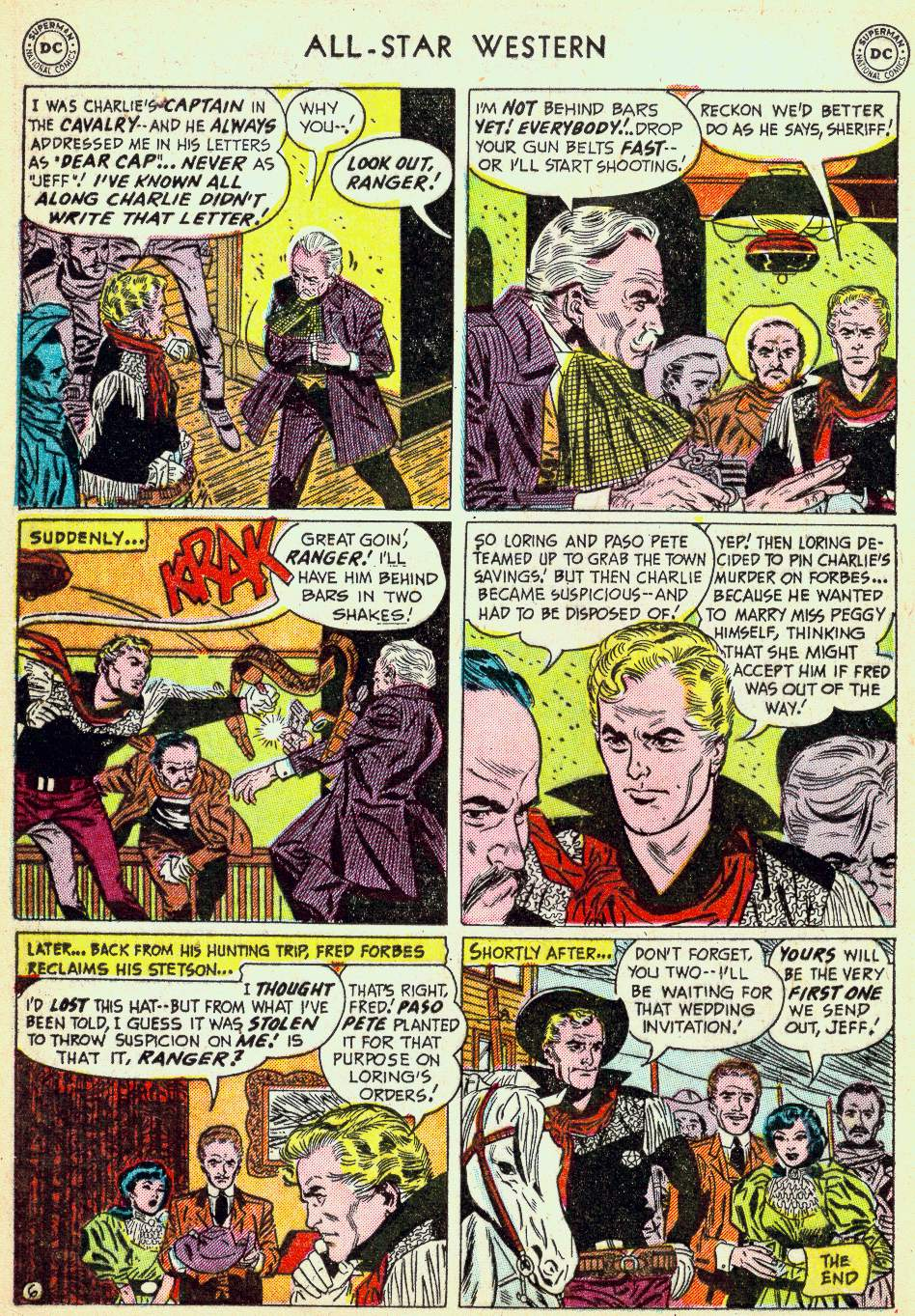Read online All-Star Western (1951) comic -  Issue #63 - 16