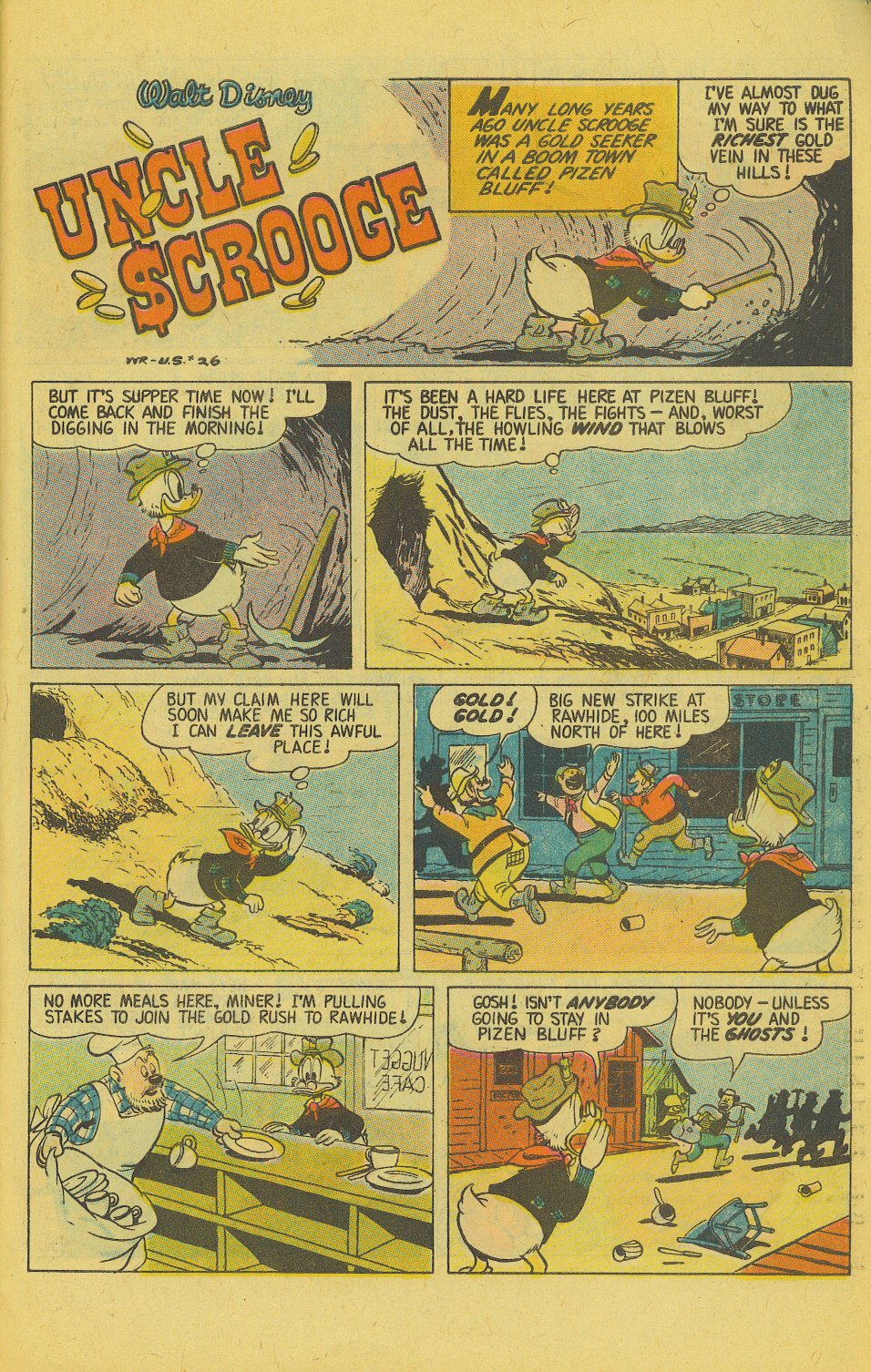 Read online Uncle Scrooge (1953) comic -  Issue #143 - 27