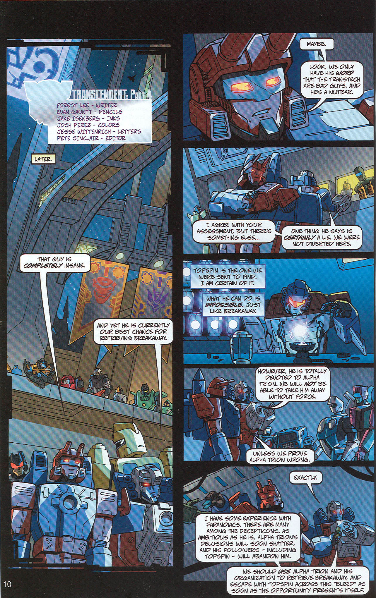 Read online Transformers: Collectors' Club comic -  Issue #22 - 10