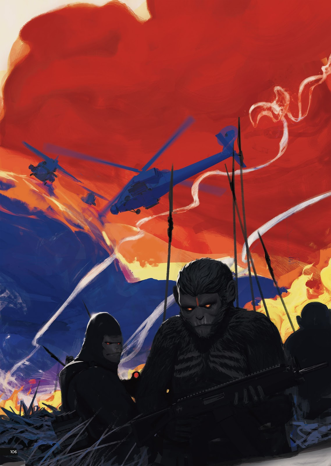 Read online Planet of the Apes Artist Tribute comic -  Issue # TPB - 106