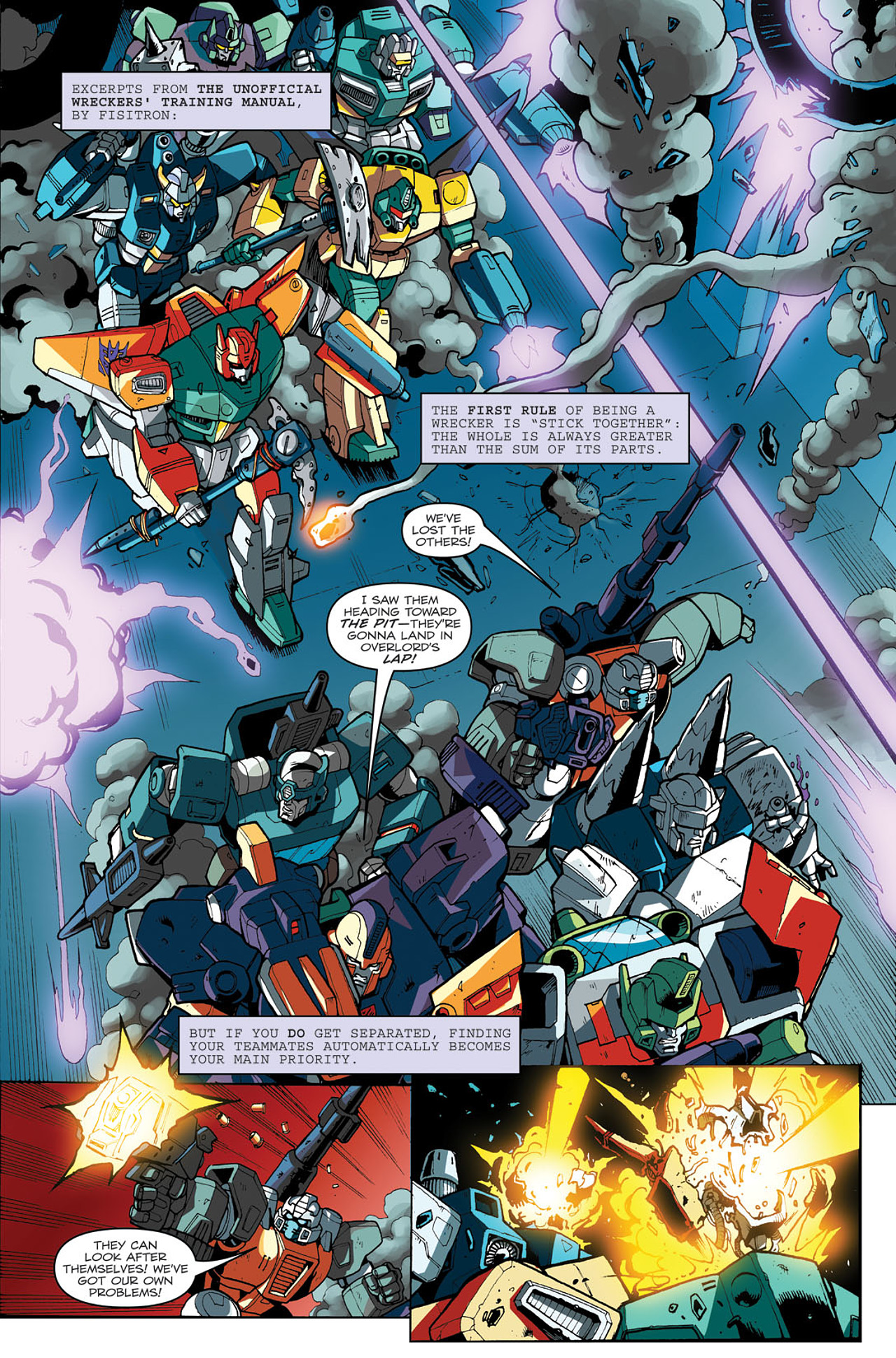 Read online Transformers: Last Stand of The Wreckers comic -  Issue #3 - 7