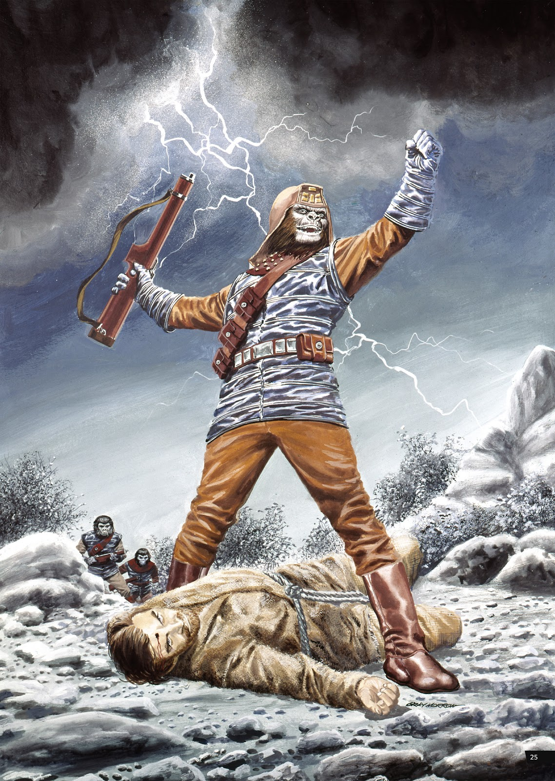 Read online Planet of the Apes Artist Tribute comic -  Issue # TPB - 25