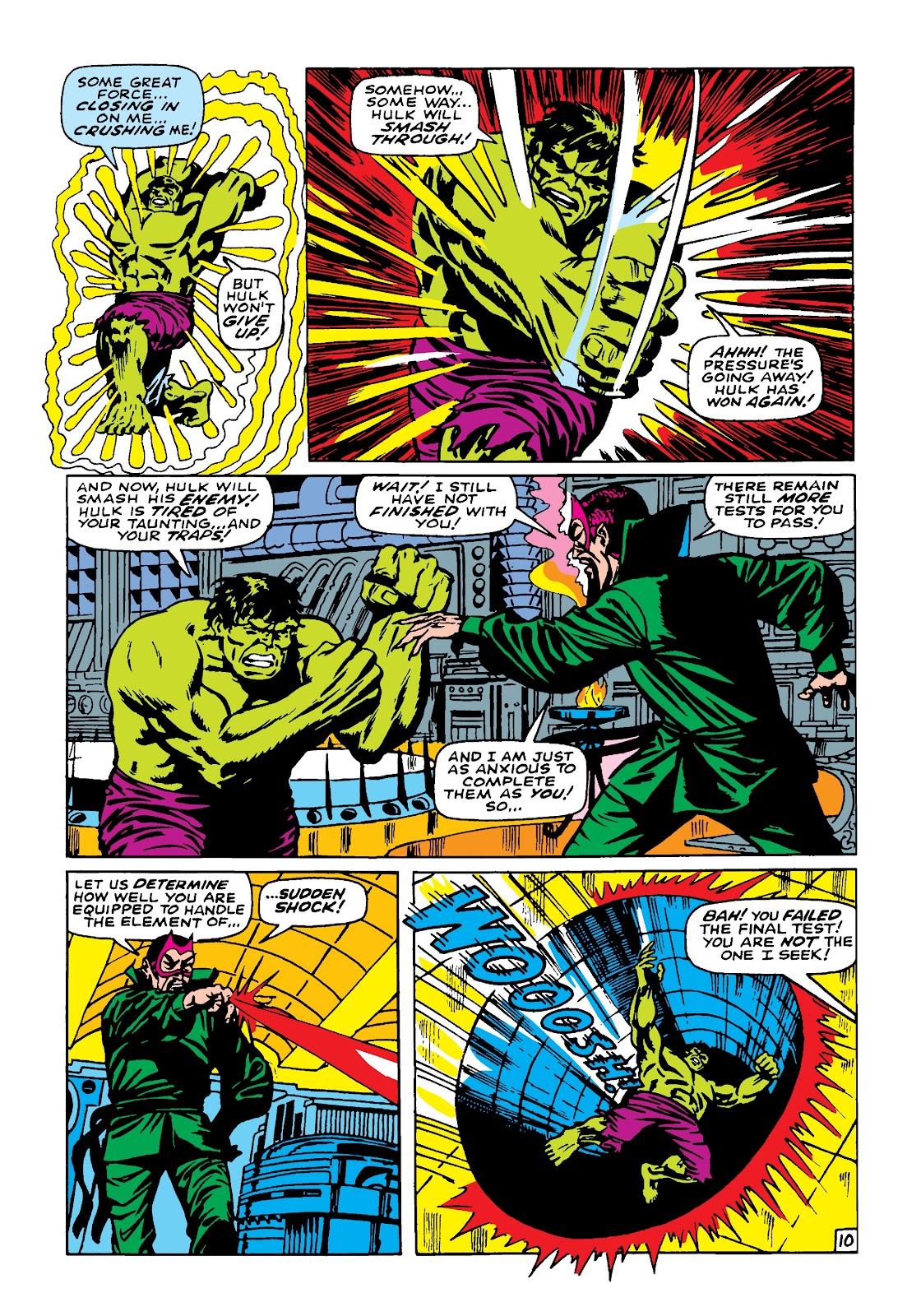 Read online Marvel Masterworks: The Incredible Hulk comic -  Issue # TPB 4 (Part 2) - 1