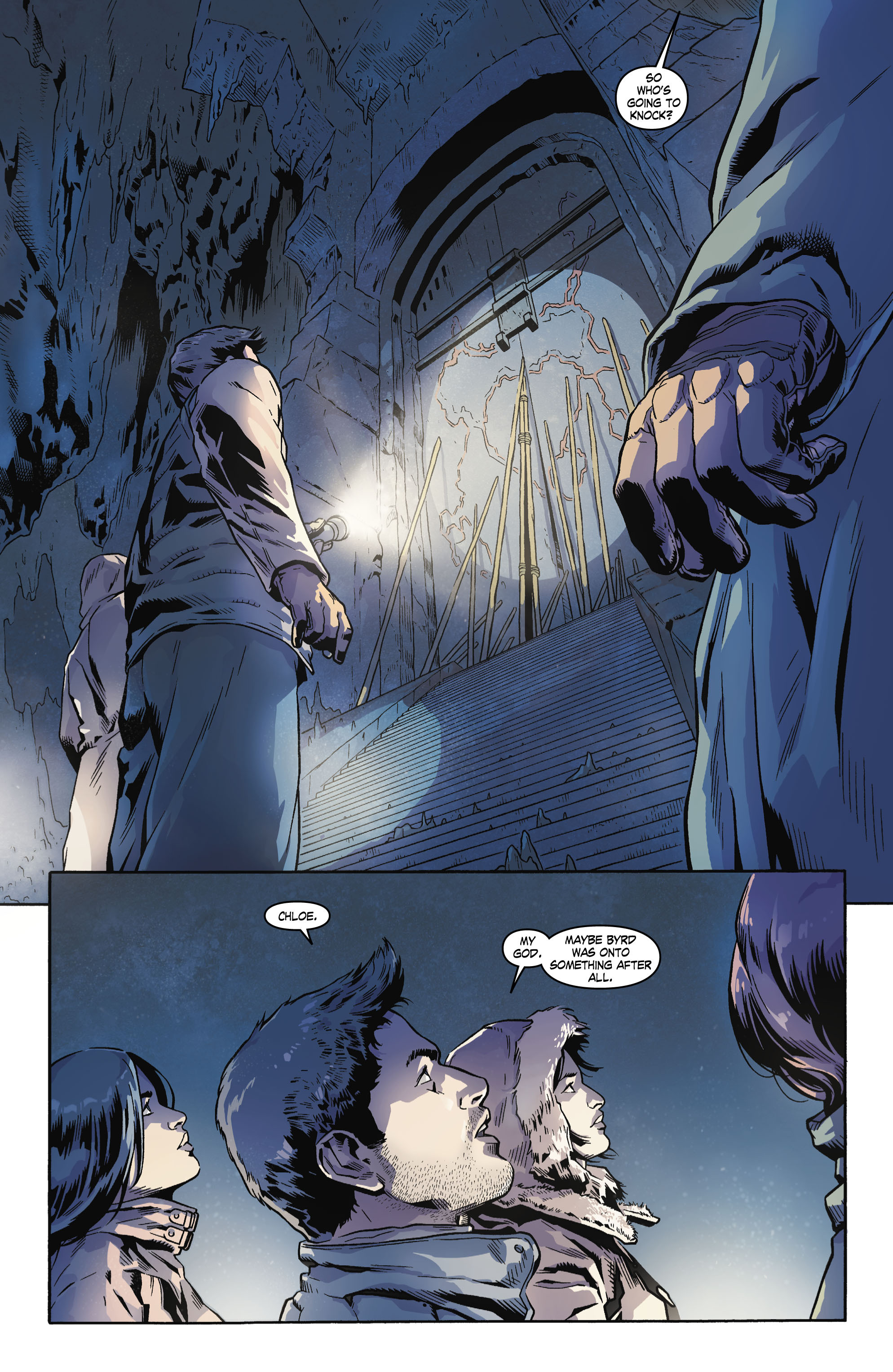 Read online Uncharted comic -  Issue #4 - 6