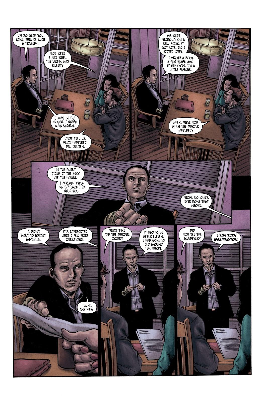 Read online Vindication comic -  Issue #3 - 17
