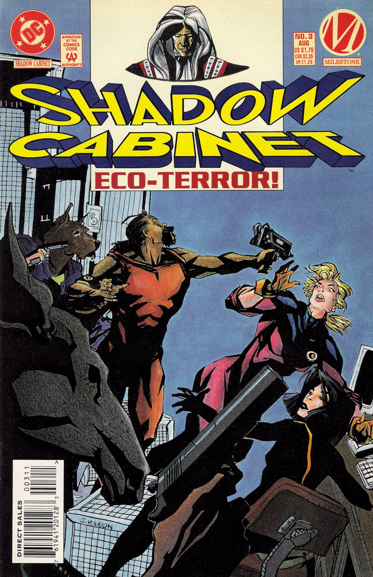 Read online Shadow Cabinet comic -  Issue #3 - 1