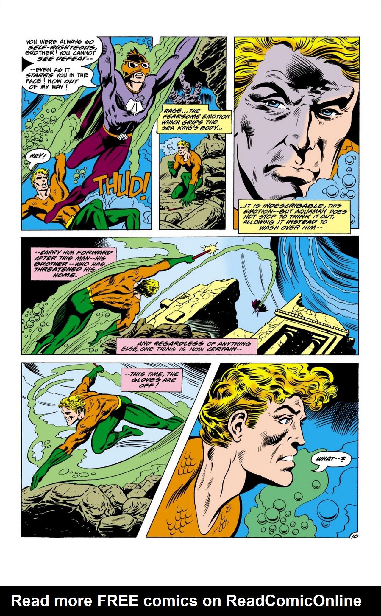 Read online Aquaman (1962) comic -  Issue #63 - 11