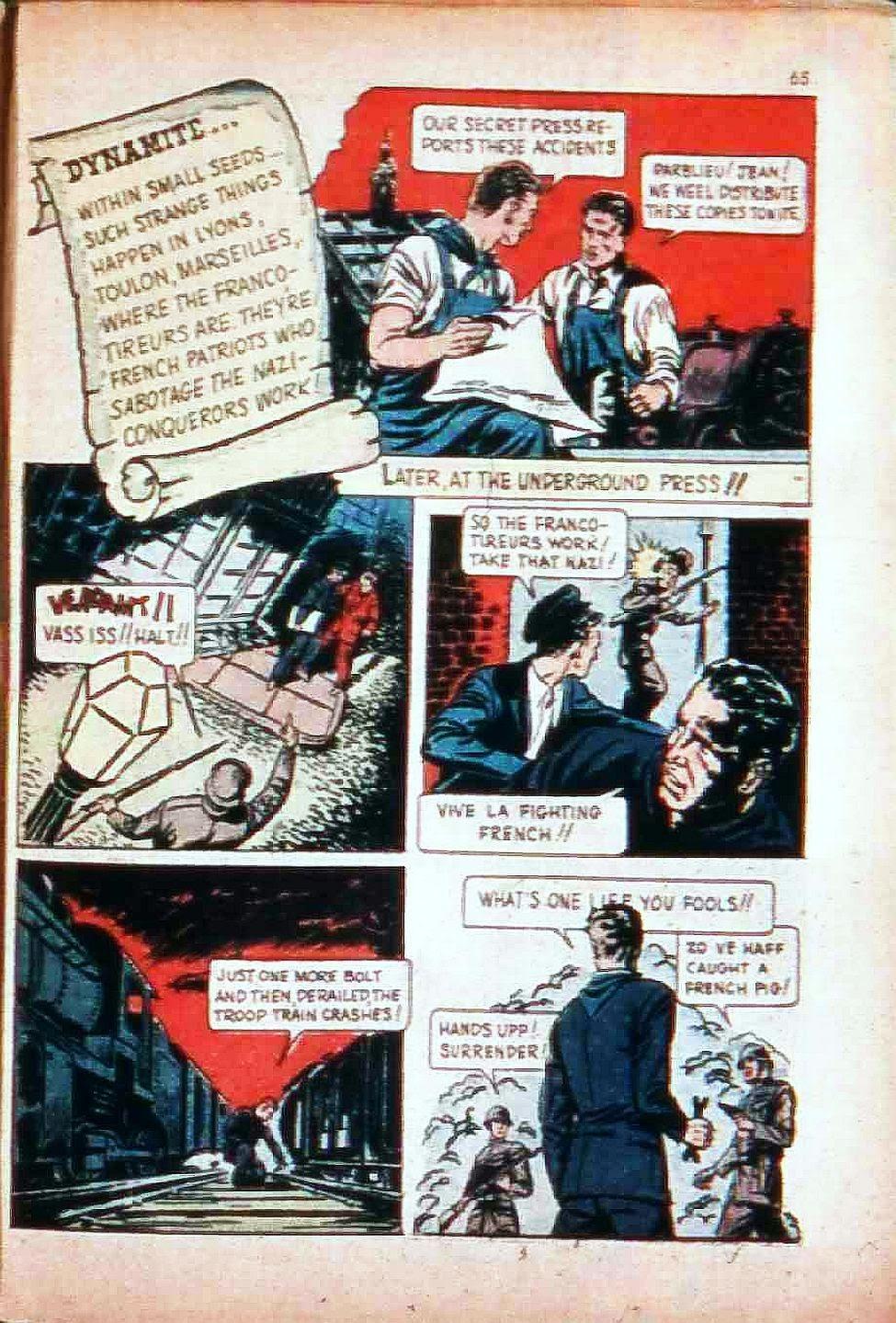 Read online Super-Magician Comics comic -  Issue #17 - 64