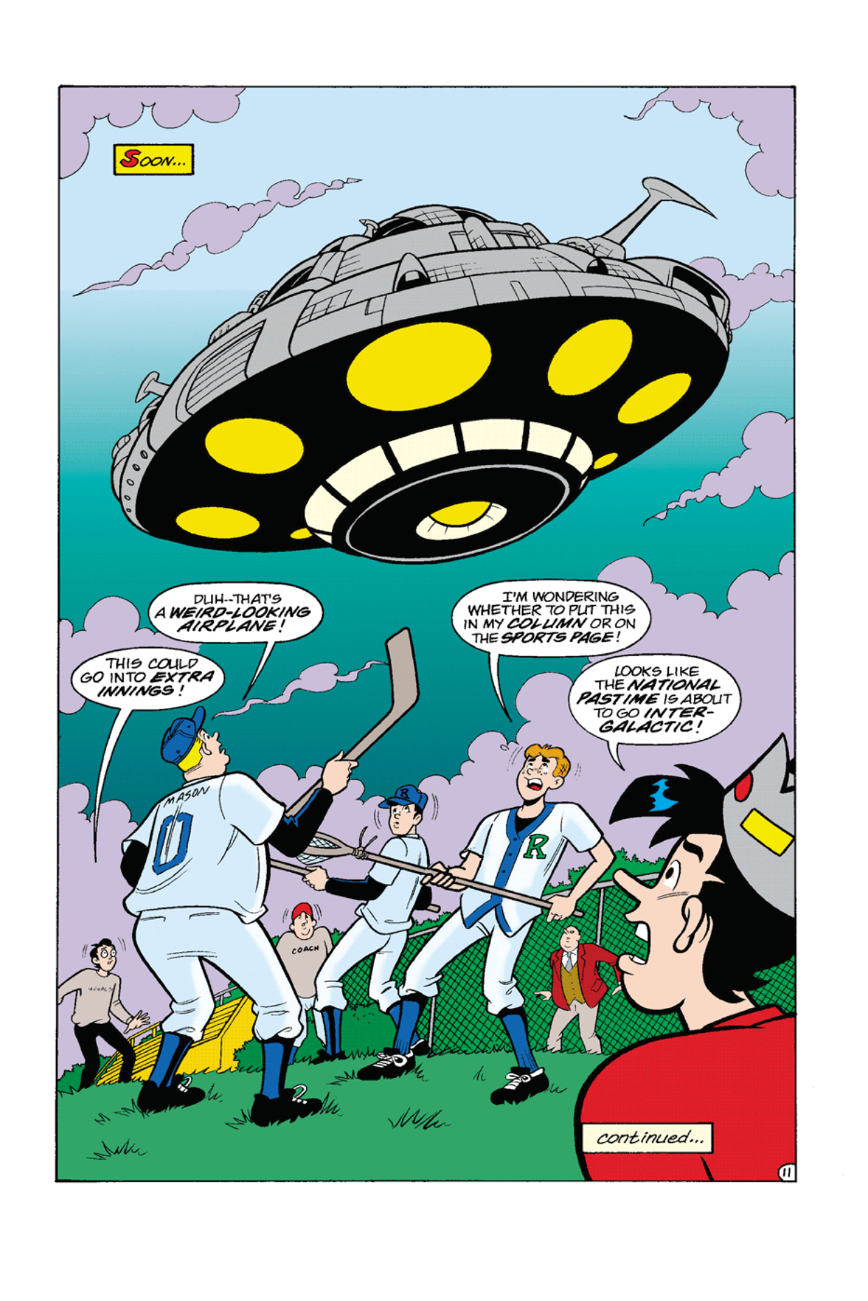 Read online Archie's Weird Mysteries comic -  Issue #7 - 13