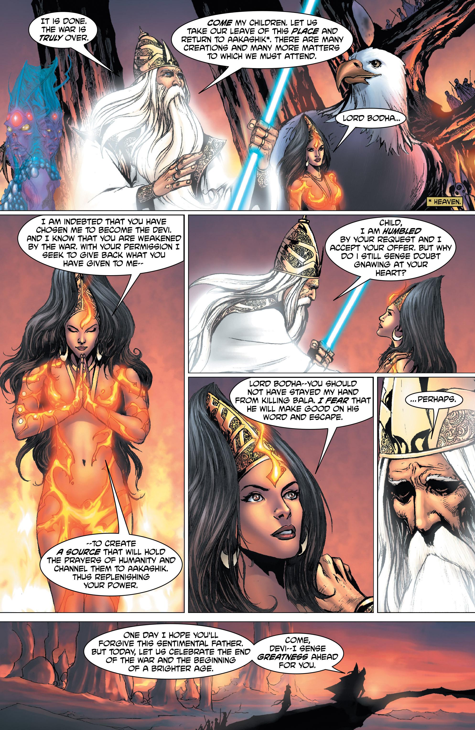 Read online Shekhar Kapur's Devi: Rebirth comic -  Issue #1 - 19