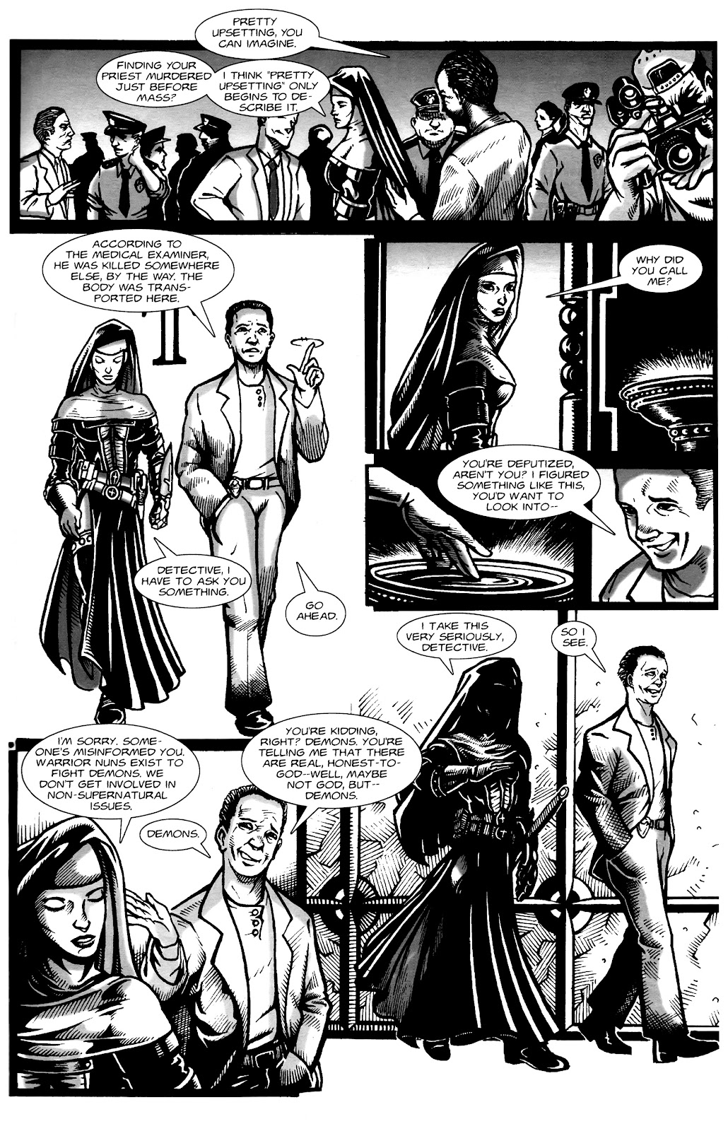 Warrior Nun Areala:  Dangerous Game Issue #1 #1 - English 26