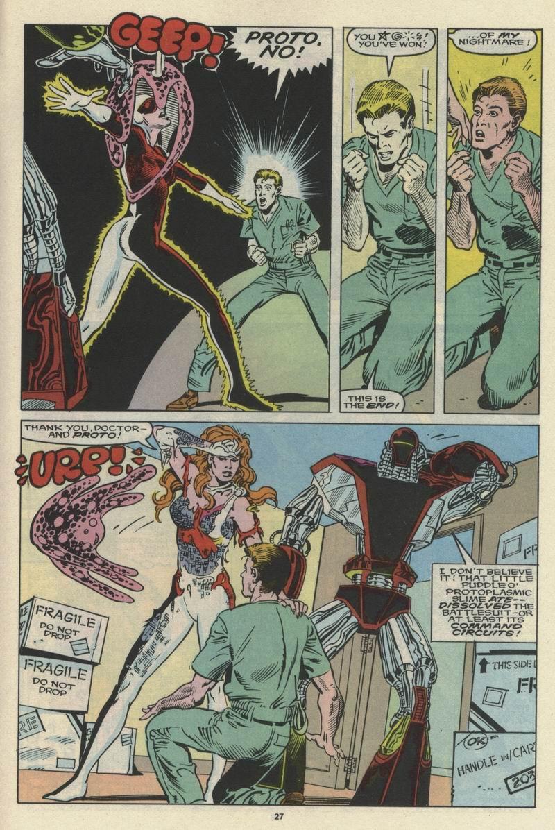 Read online Alpha Flight (1983) comic -  Issue #66 - 28