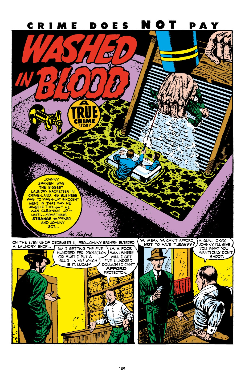 Read online Crime Does Not Pay Archives comic -  Issue # TPB 8 (Part 2) - 10