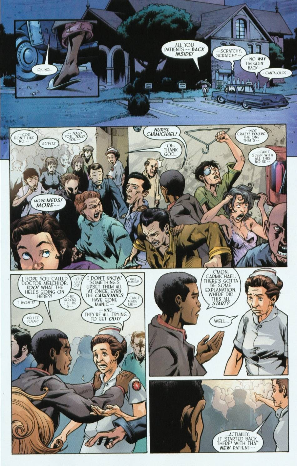 Read online Route 666 comic -  Issue #2 - 3