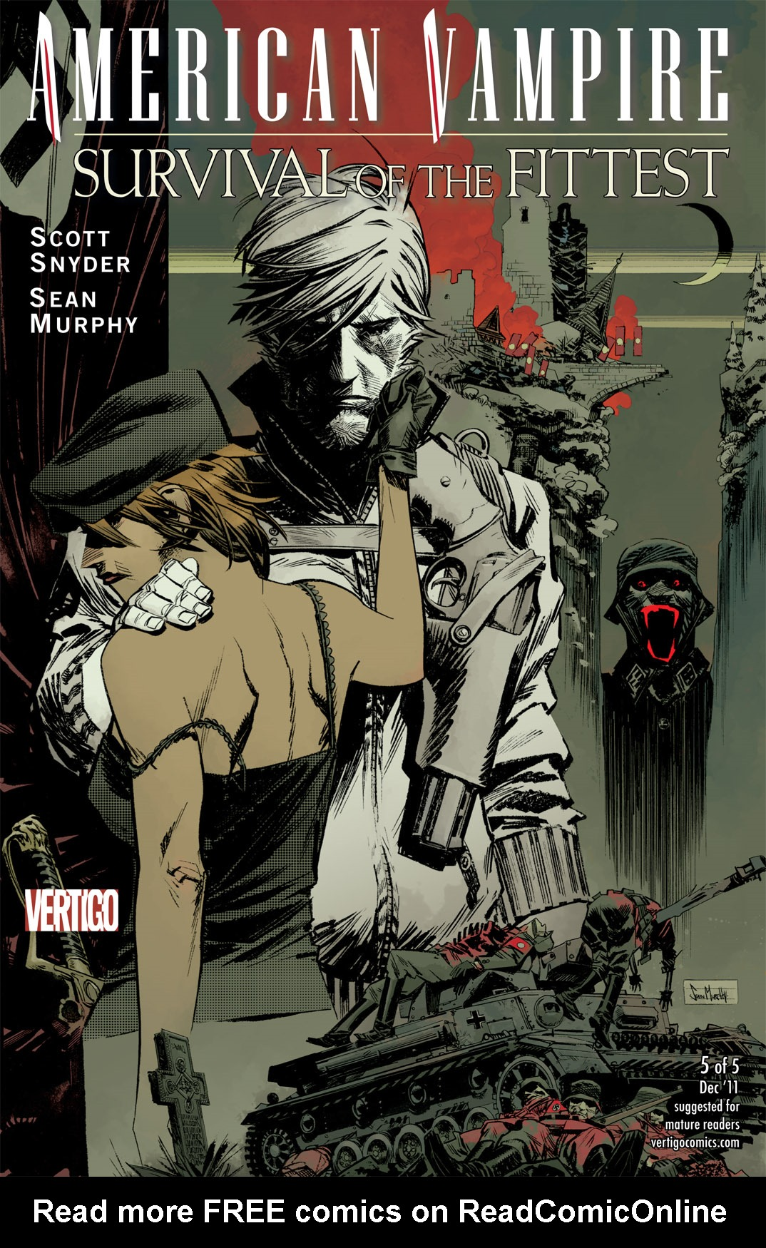 Read online American Vampire: Survival of the Fittest comic -  Issue #5 - 1