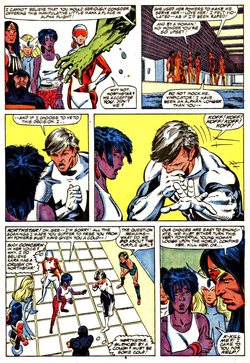 Read online Alpha Flight (1983) comic -  Issue #42 - 5