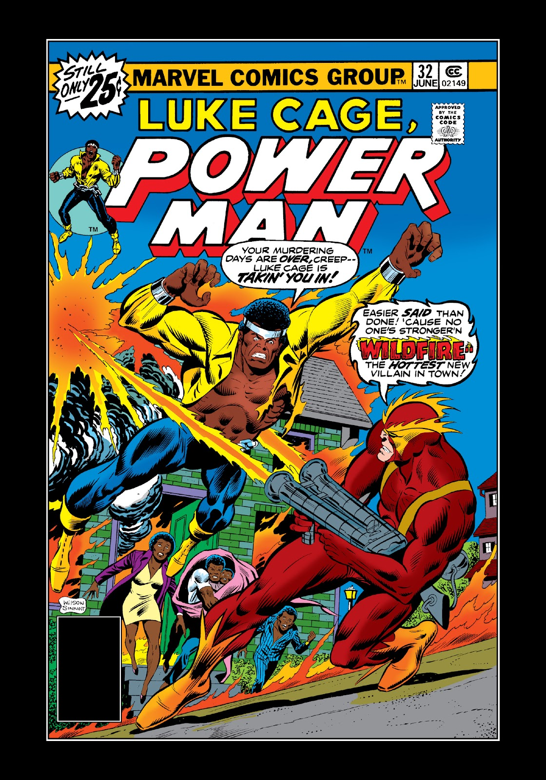 Read online Marvel Masterworks: Luke Cage, Power Man comic -  Issue # TPB 3 (Part 1) - 9