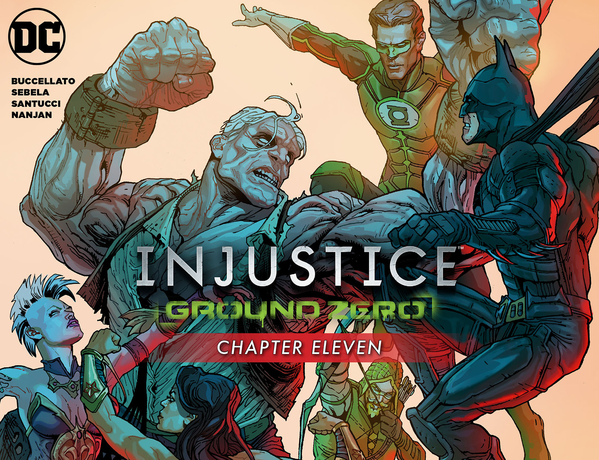 Read online Injustice: Ground Zero comic -  Issue #11 - 1