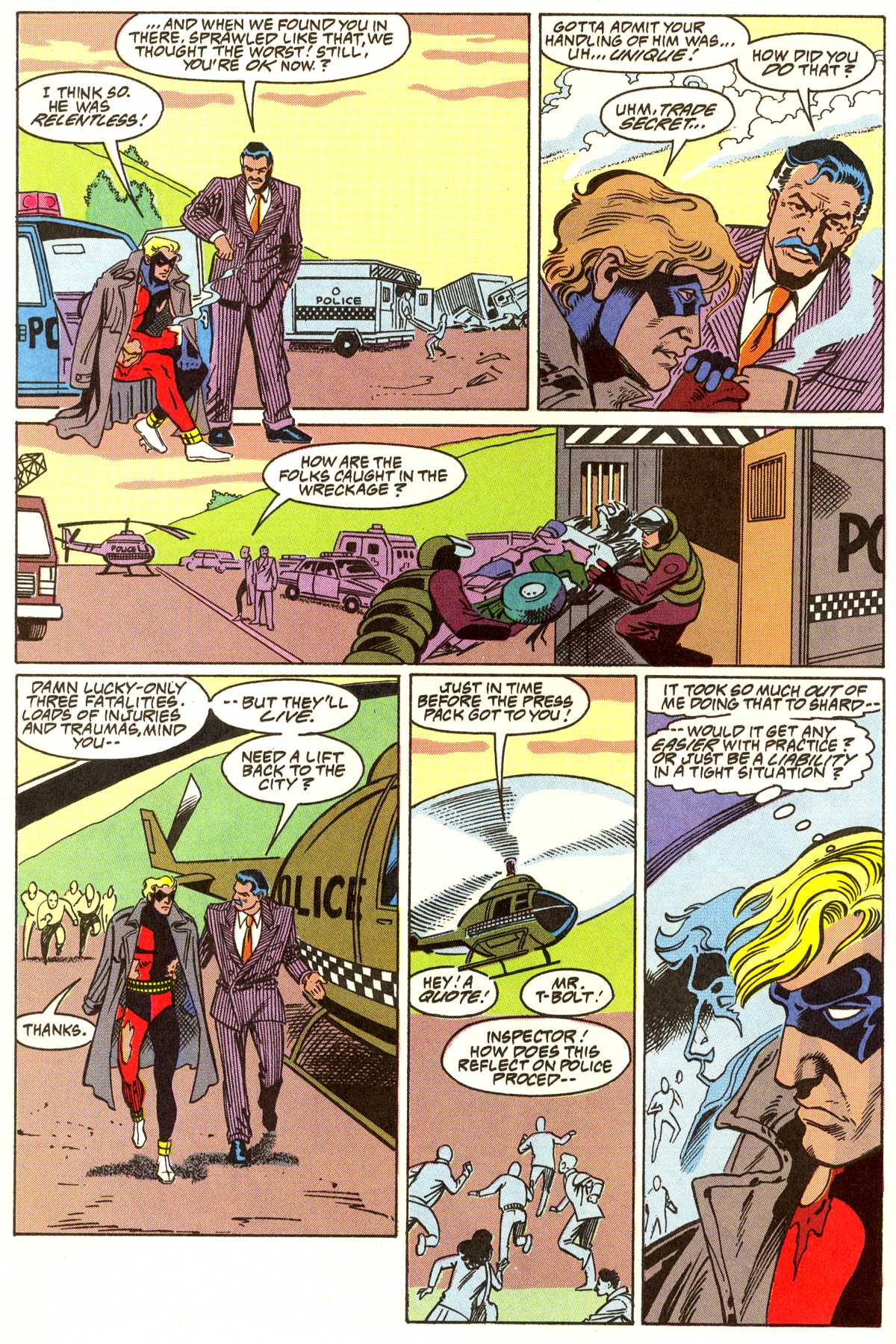 Read online Peter Cannon--Thunderbolt (1992) comic -  Issue #7 - 15