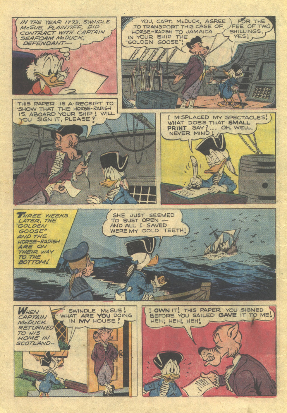 Read online Uncle Scrooge (1953) comic -  Issue #105 - 4