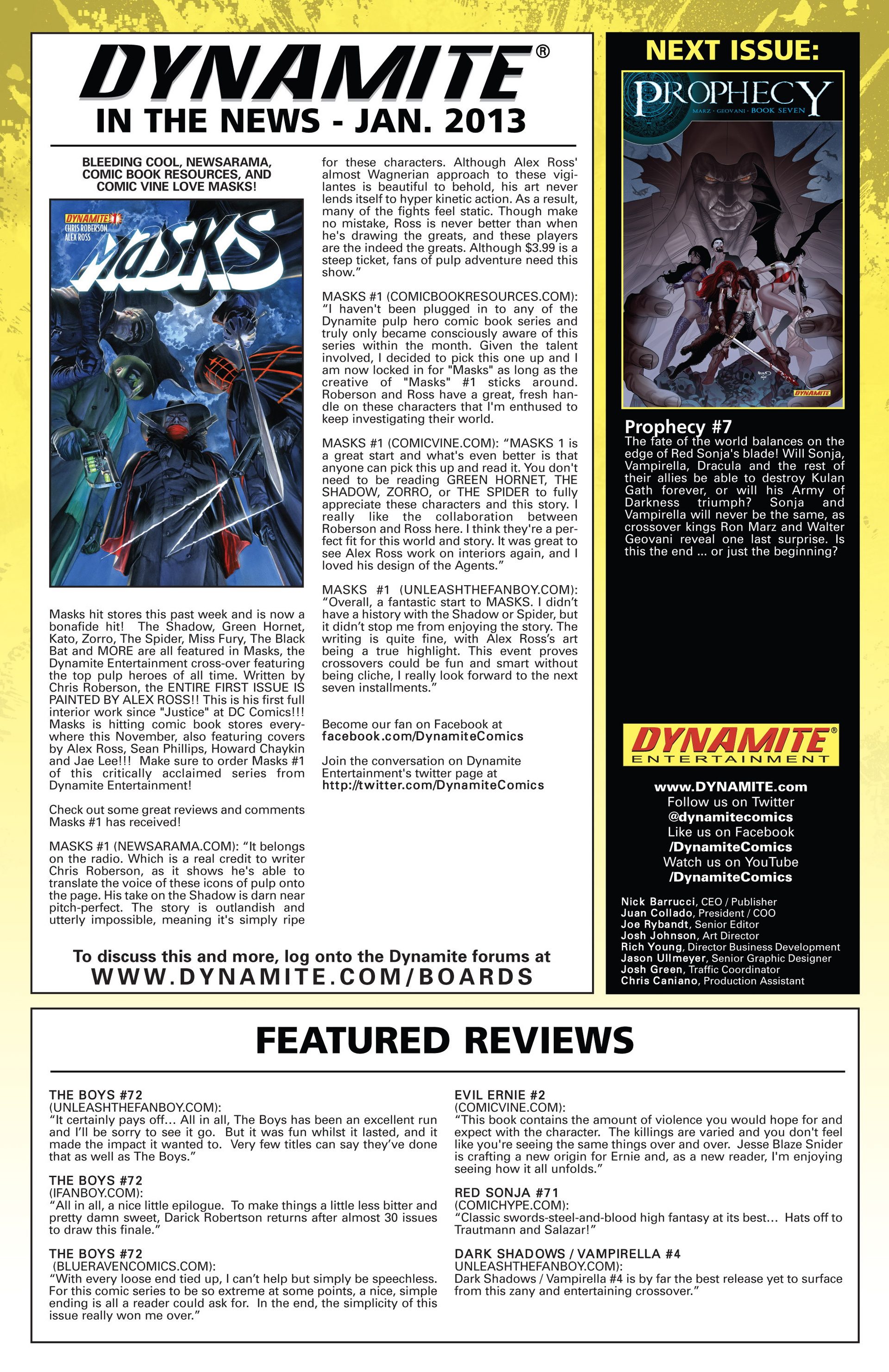Read online Prophecy comic -  Issue #6 - 22