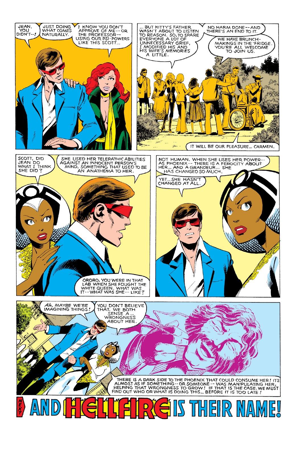 Read online X-Men Milestones: Dark Phoenix Saga comic -  Issue # TPB (Part 1) - 58