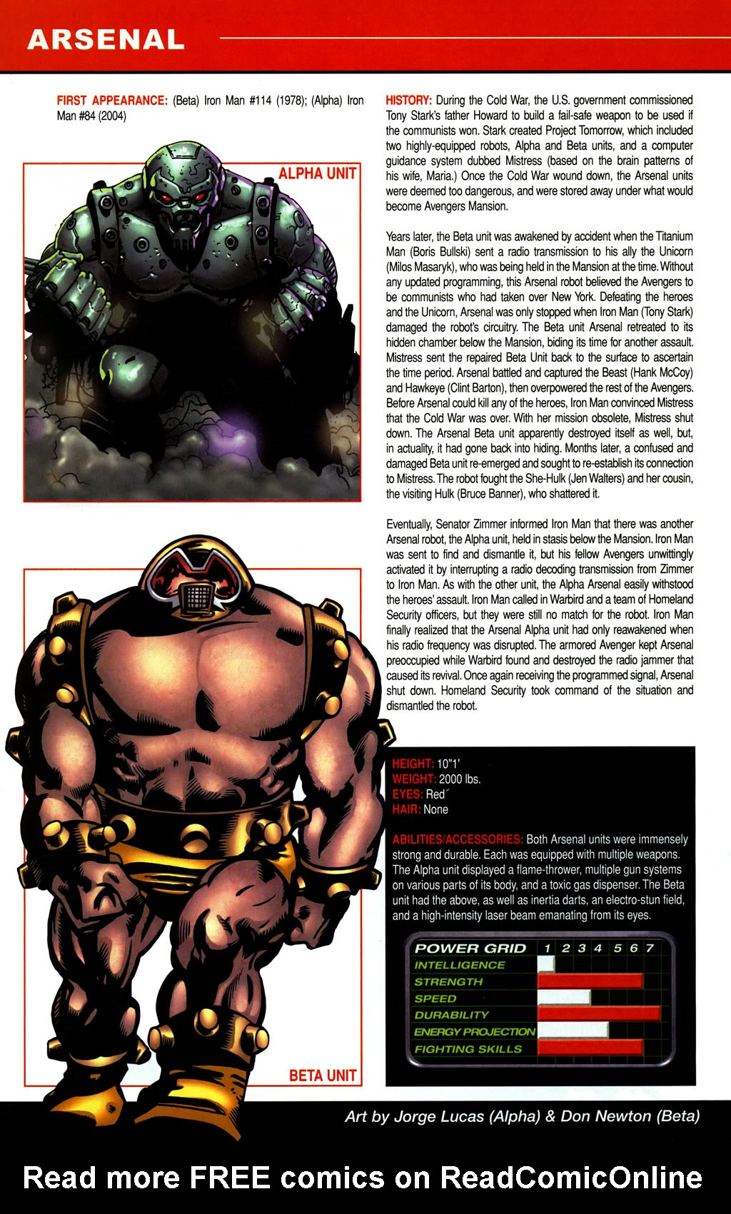 Read online All-New Official Handbook of the Marvel Universe A to Z comic -  Issue #1 - 30