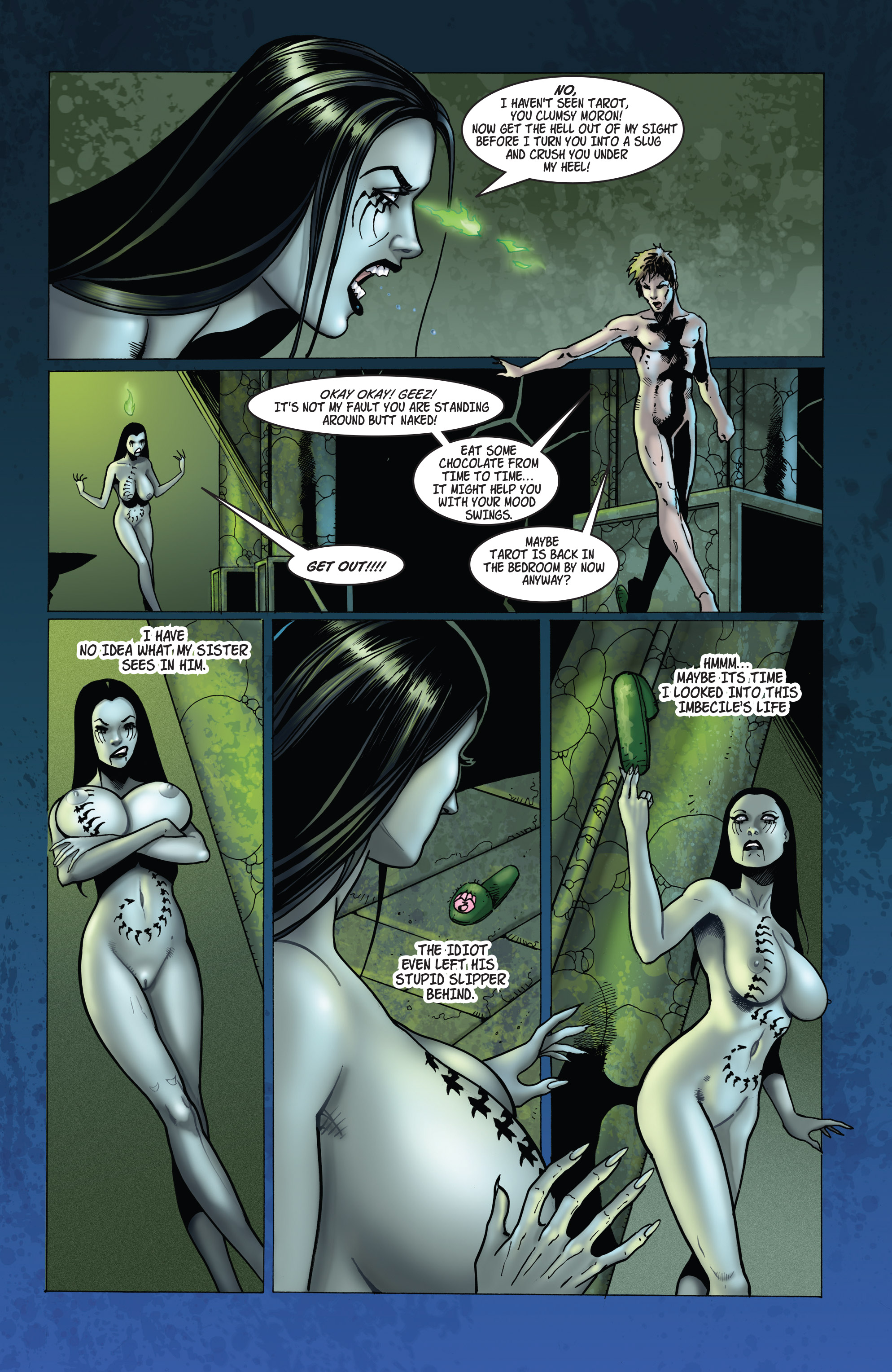 Read online Tarot: Witch of the Black Rose comic -  Issue #103 - 12