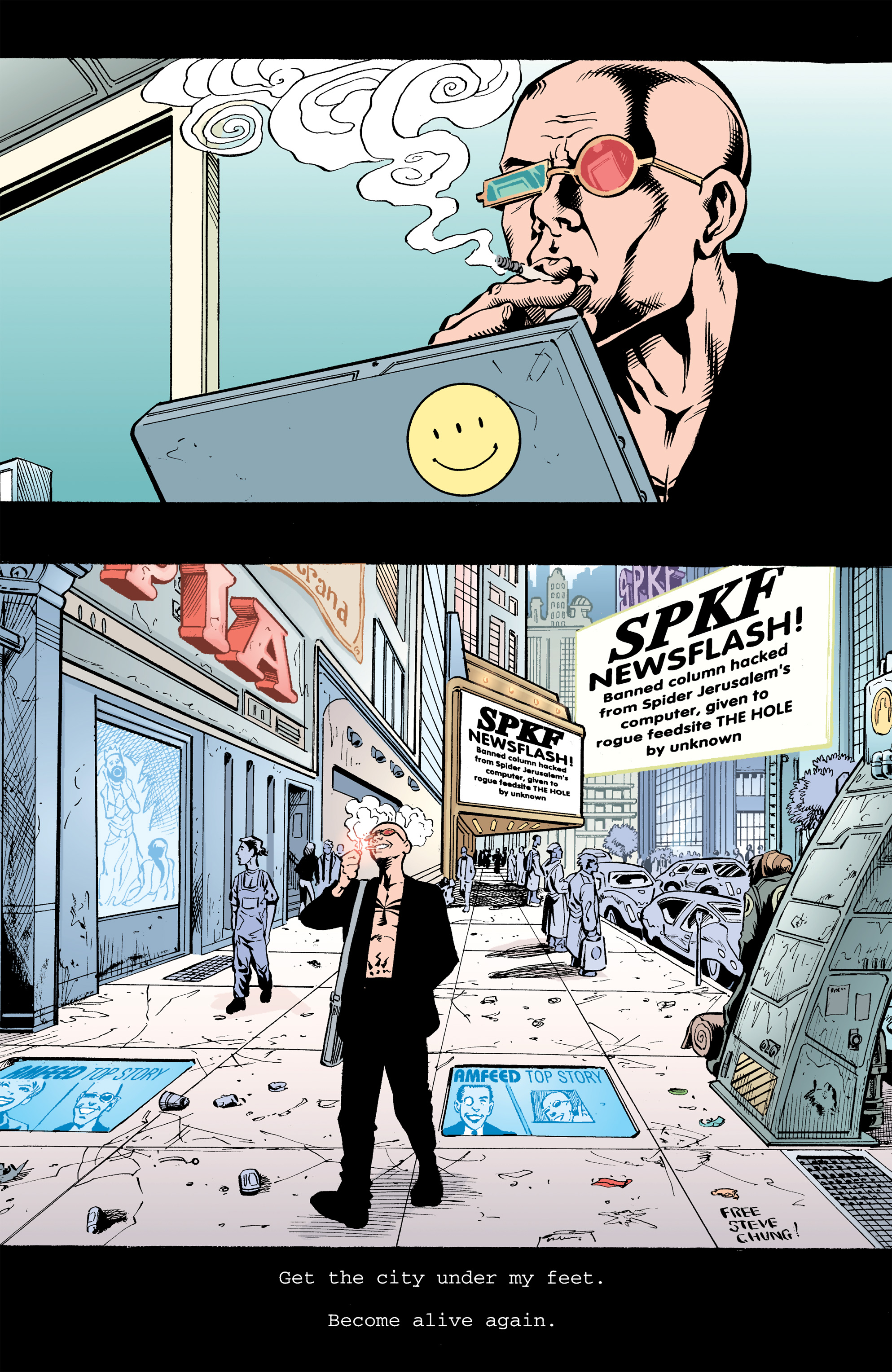 Read online Transmetropolitan comic -  Issue #32 - 18