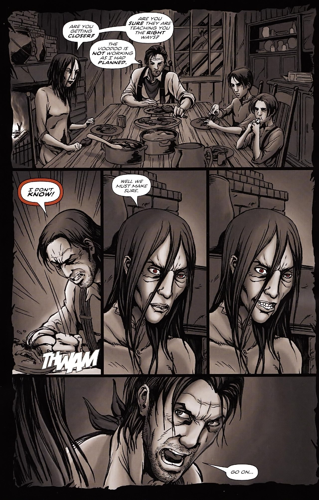 Read online Salem's Daughter: The Haunting comic -  Issue #4 - 17