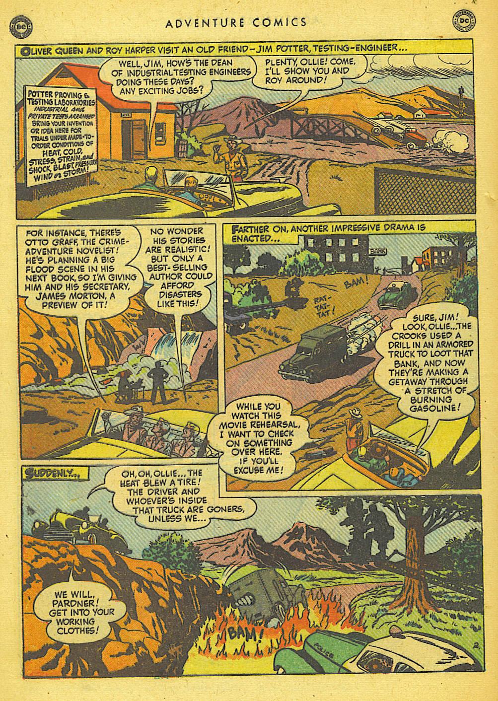 Read online Adventure Comics (1938) comic -  Issue #155 - 40