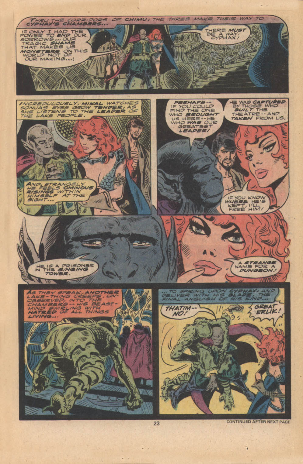 Red Sonja (1977) issue 4 - Page 14