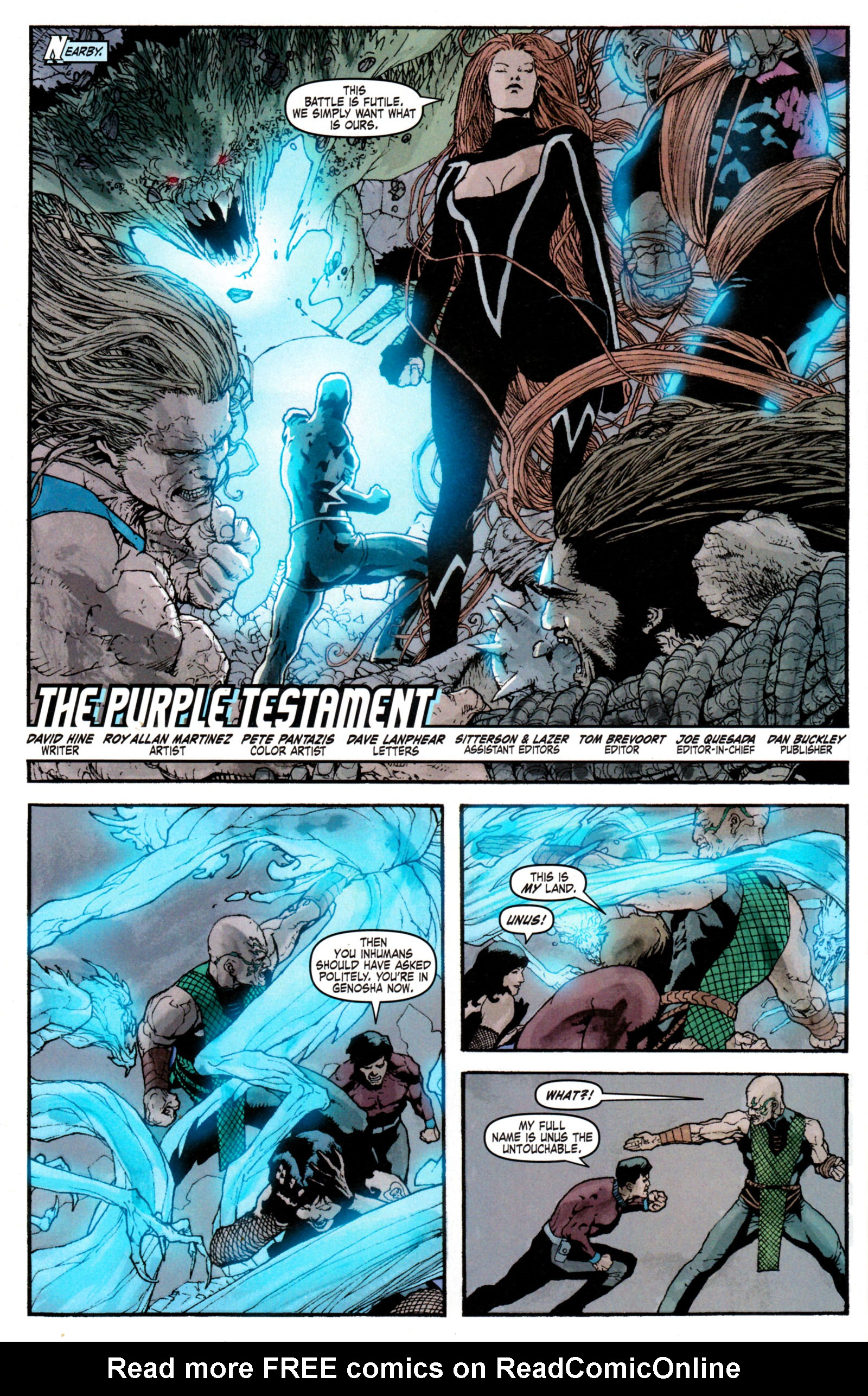Read online Son of M comic -  Issue #6 - 8