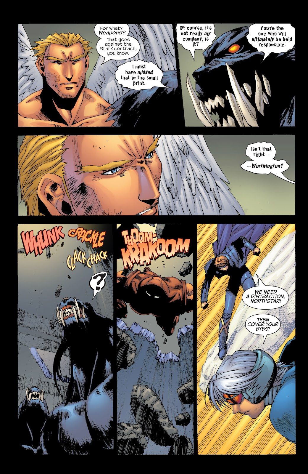 Read online X-Men: Unstoppable comic -  Issue # TPB (Part 3) - 78