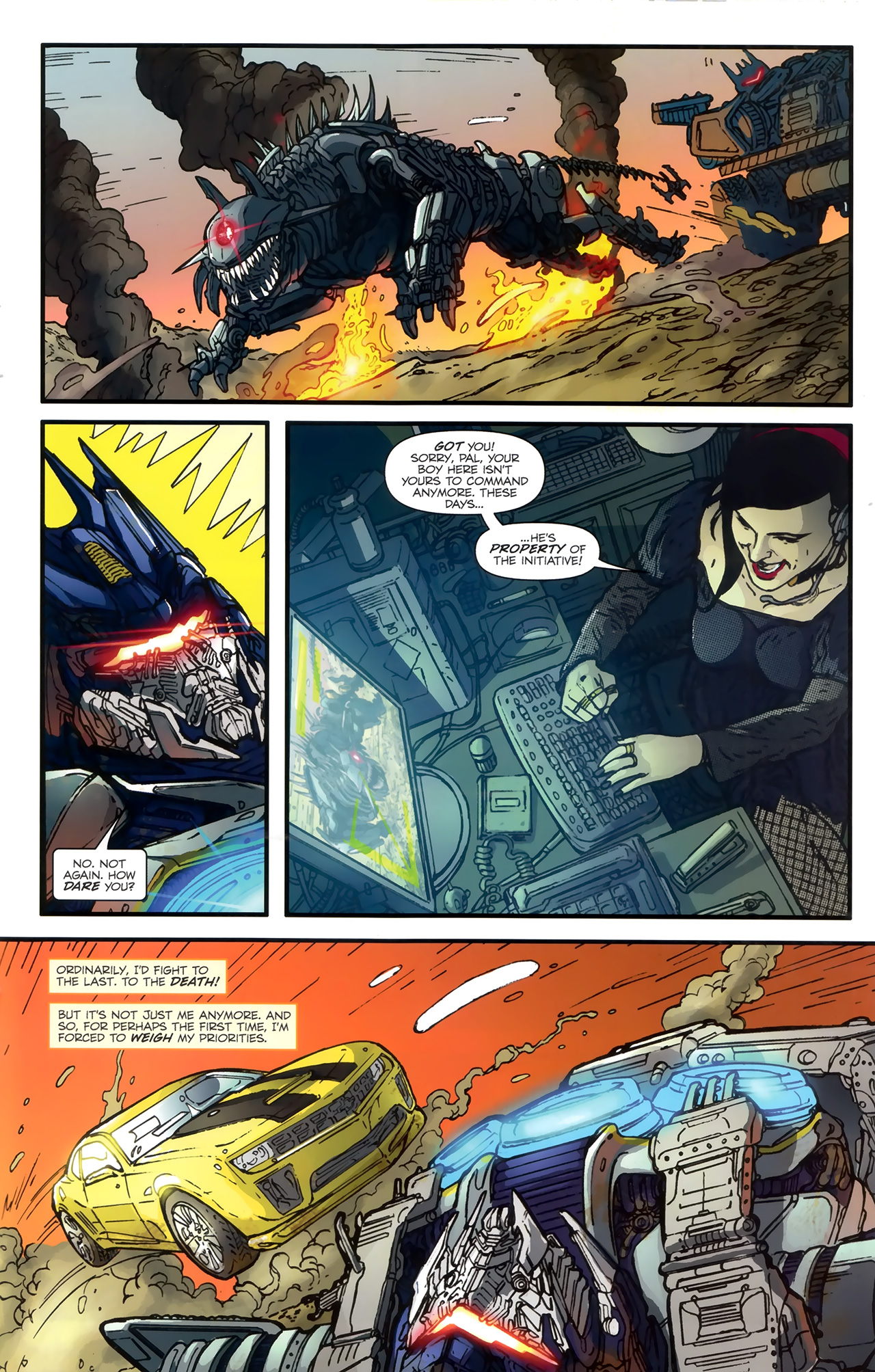 Read online Transformers: Nefarious comic -  Issue #3 - 22