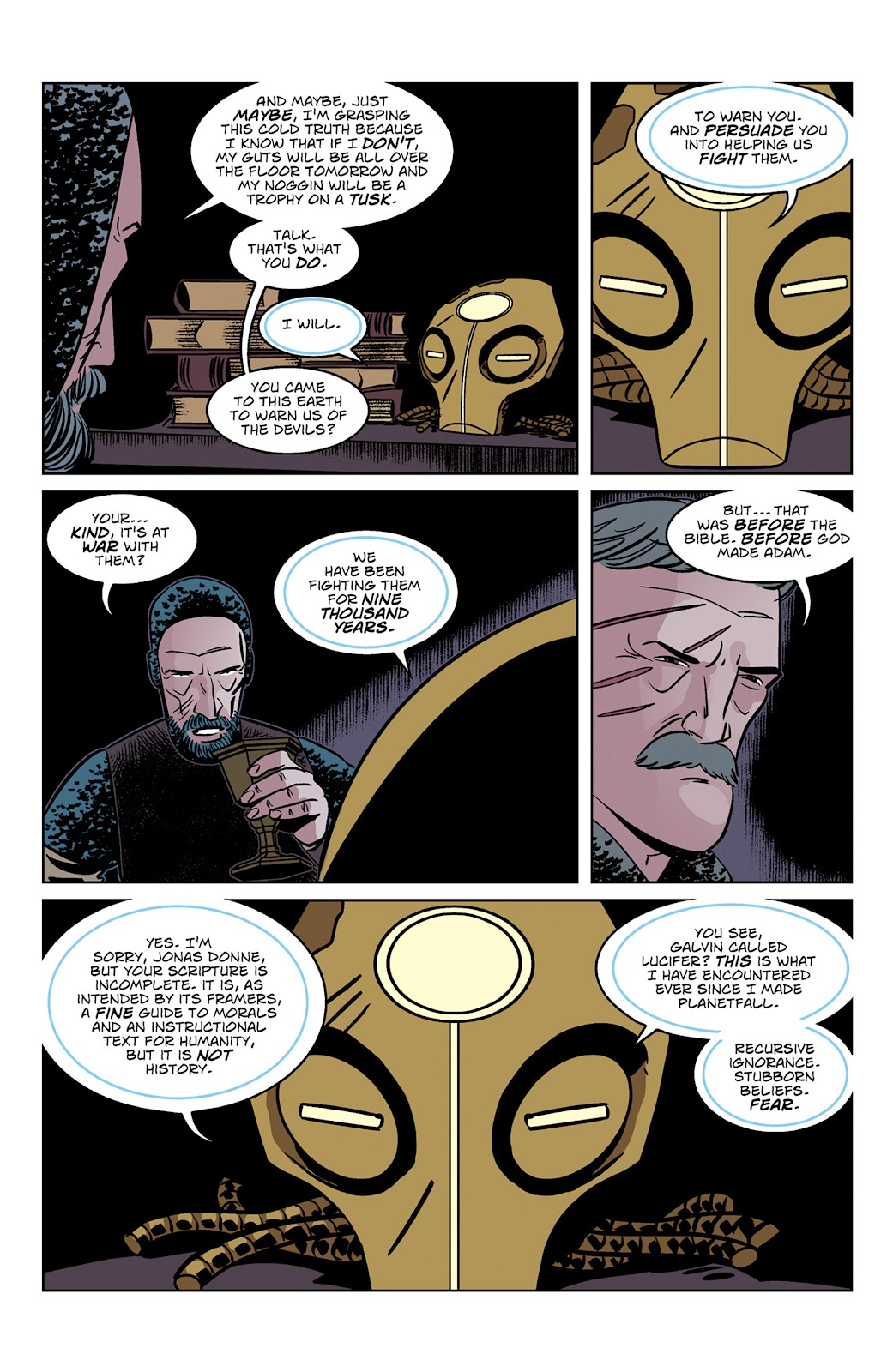 Read online Dark Ages comic -  Issue #3 - 17