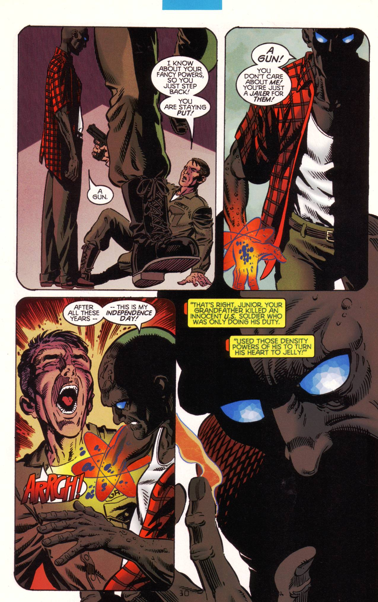 Read online Tangent Comics/ The Atom comic -  Issue # Full - 31