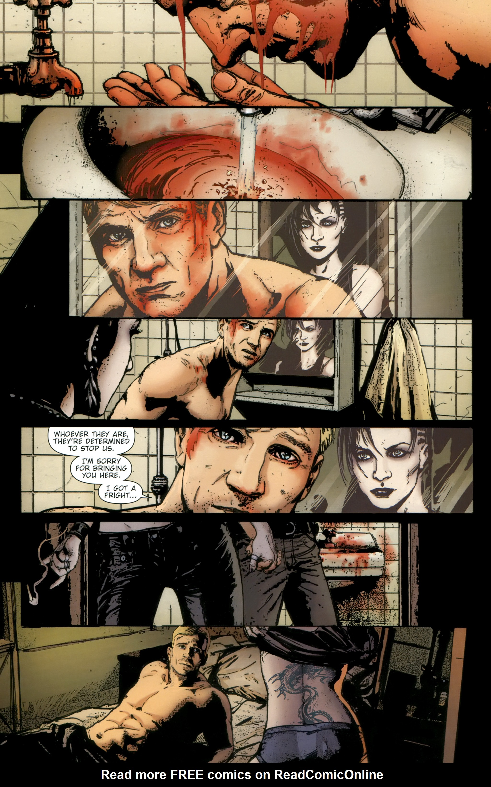 Read online The Girl With the Dragon Tattoo comic -  Issue # TPB 2 - 72