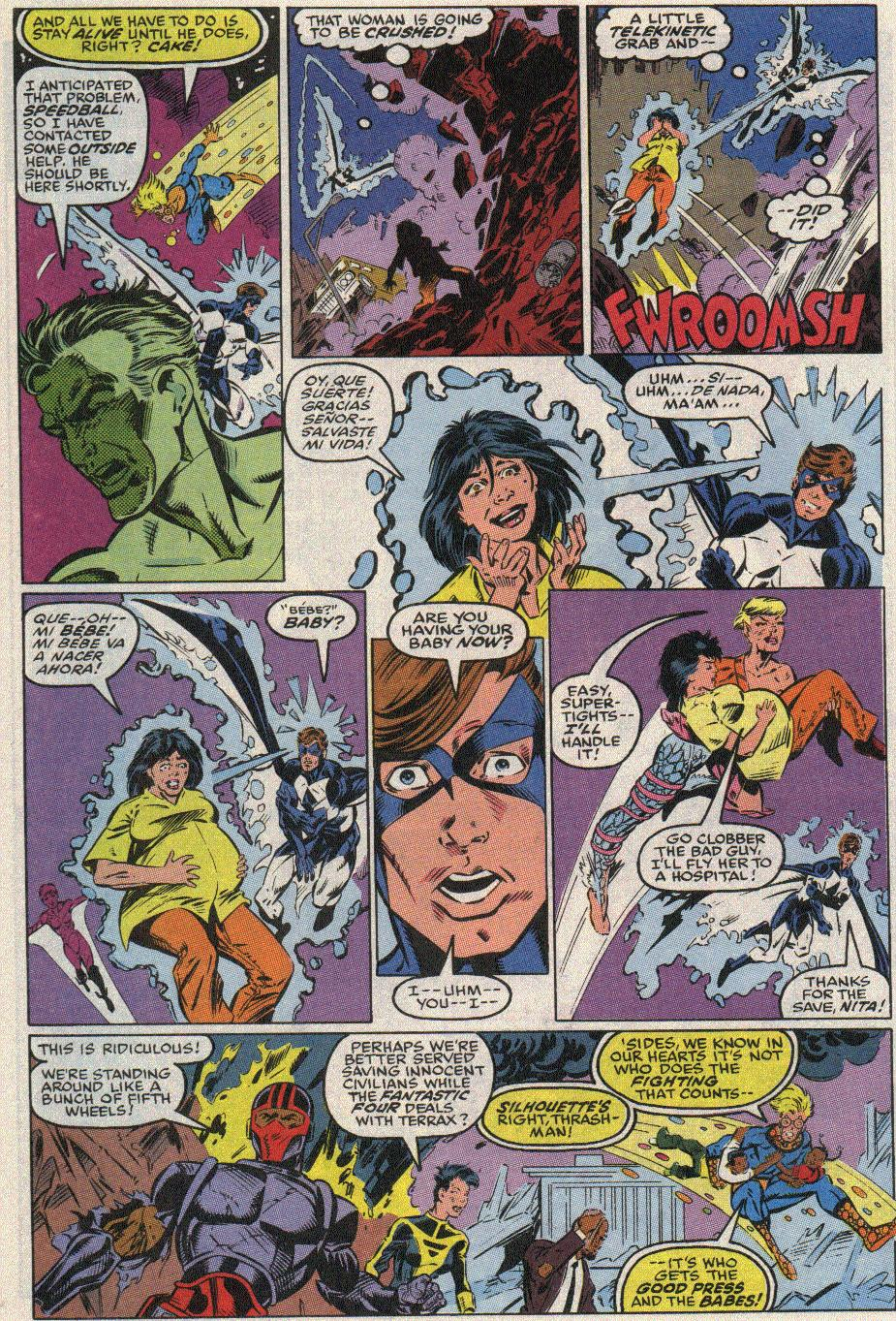 The New Warriors Issue #17 #21 - English 6