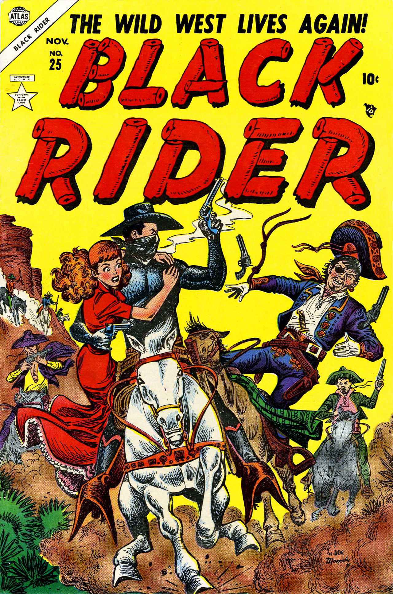 Black Rider 25 Page 1