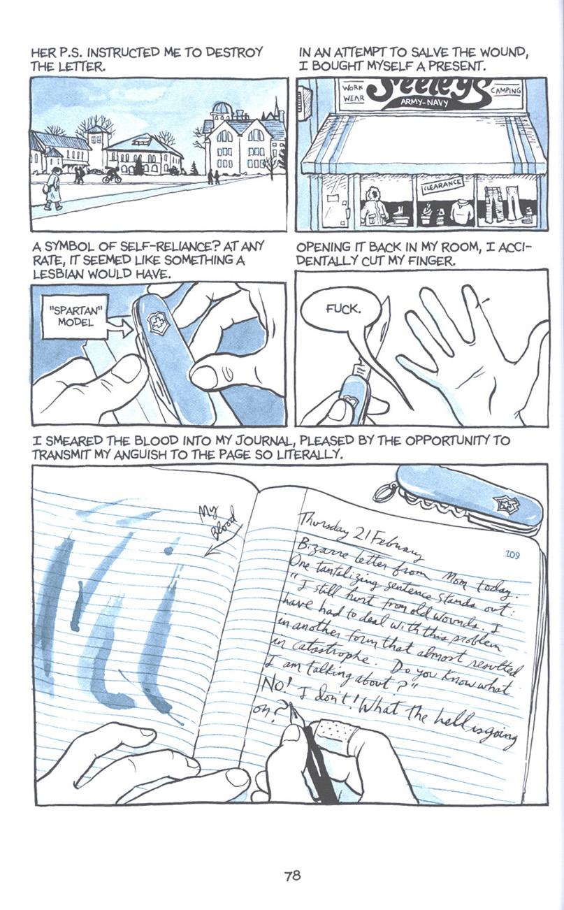 Read online Fun Home: A Family Tragicomic comic -  Issue # TPB - 85