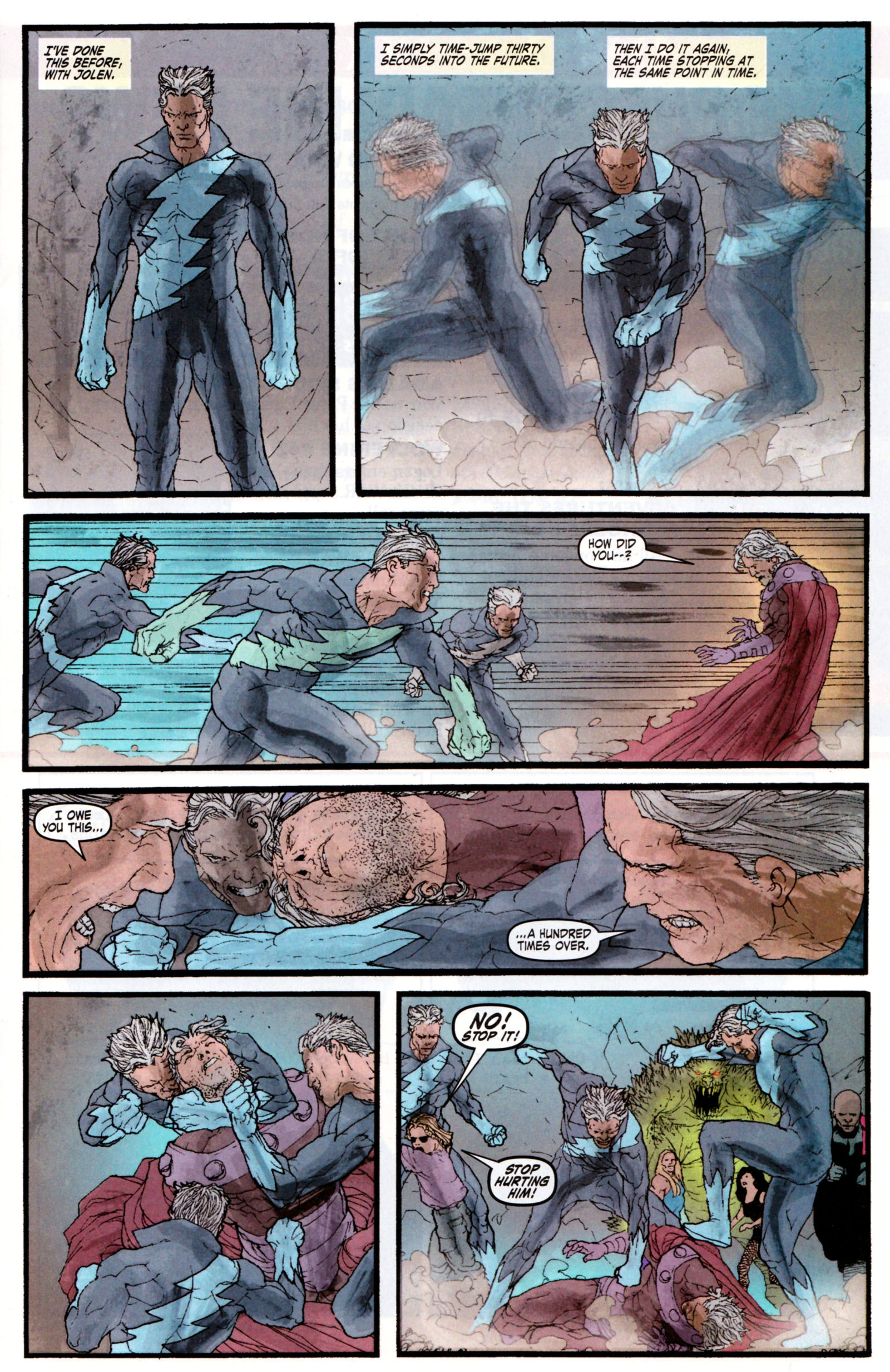 Read online Son of M comic -  Issue #5 - 17