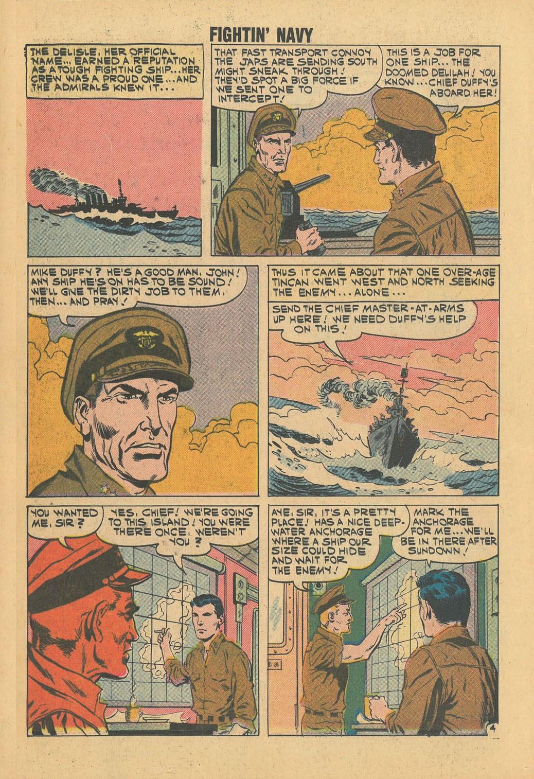 Read online Fightin' Navy comic -  Issue #100 - 16