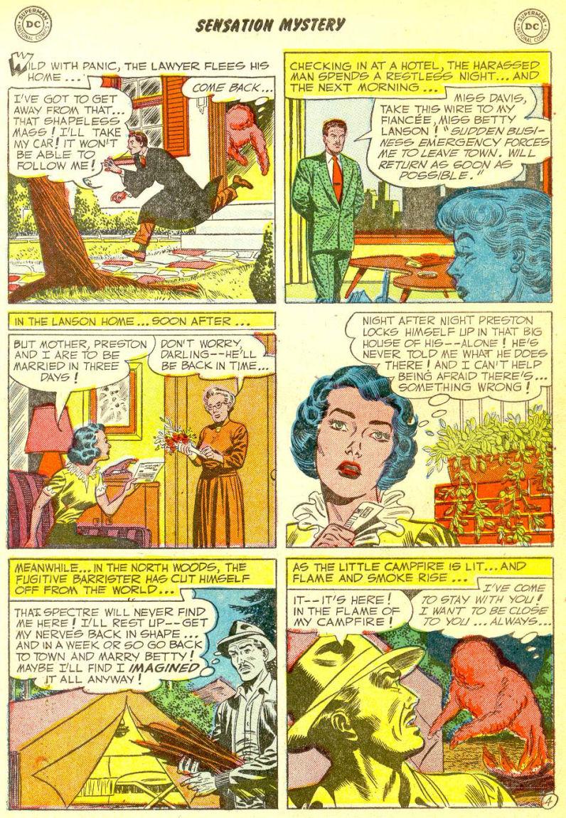 Read online Sensation (Mystery) Comics comic -  Issue #111 - 6
