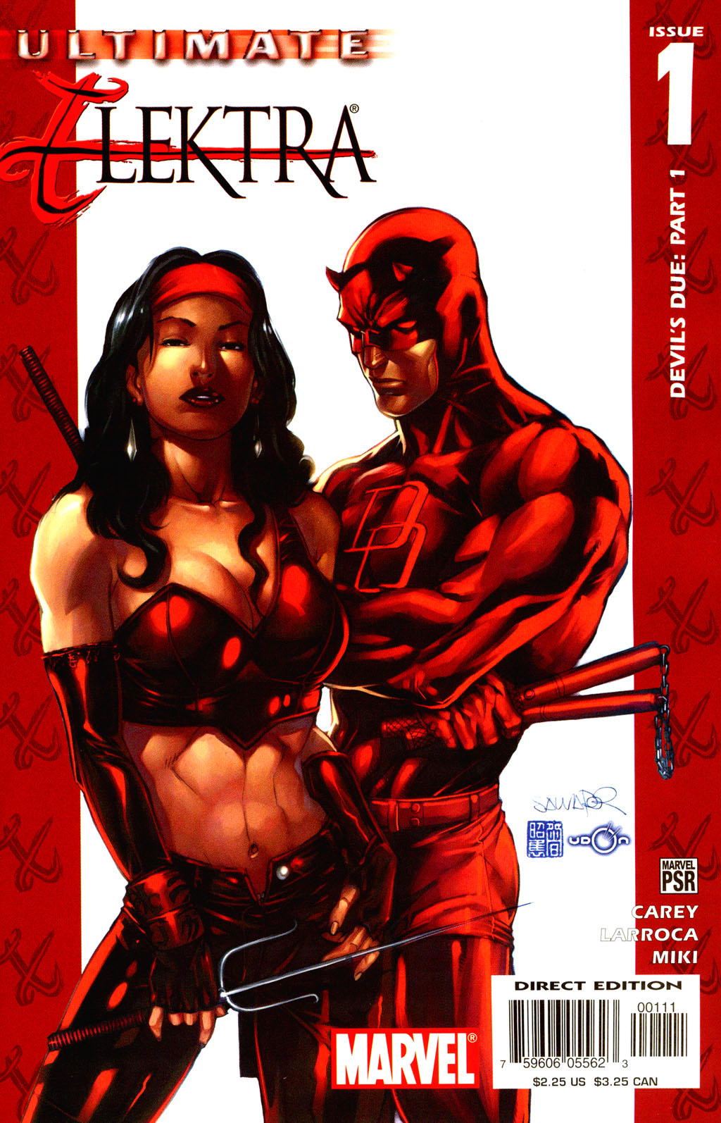 Read online Ultimate Elektra comic -  Issue #1 - 2
