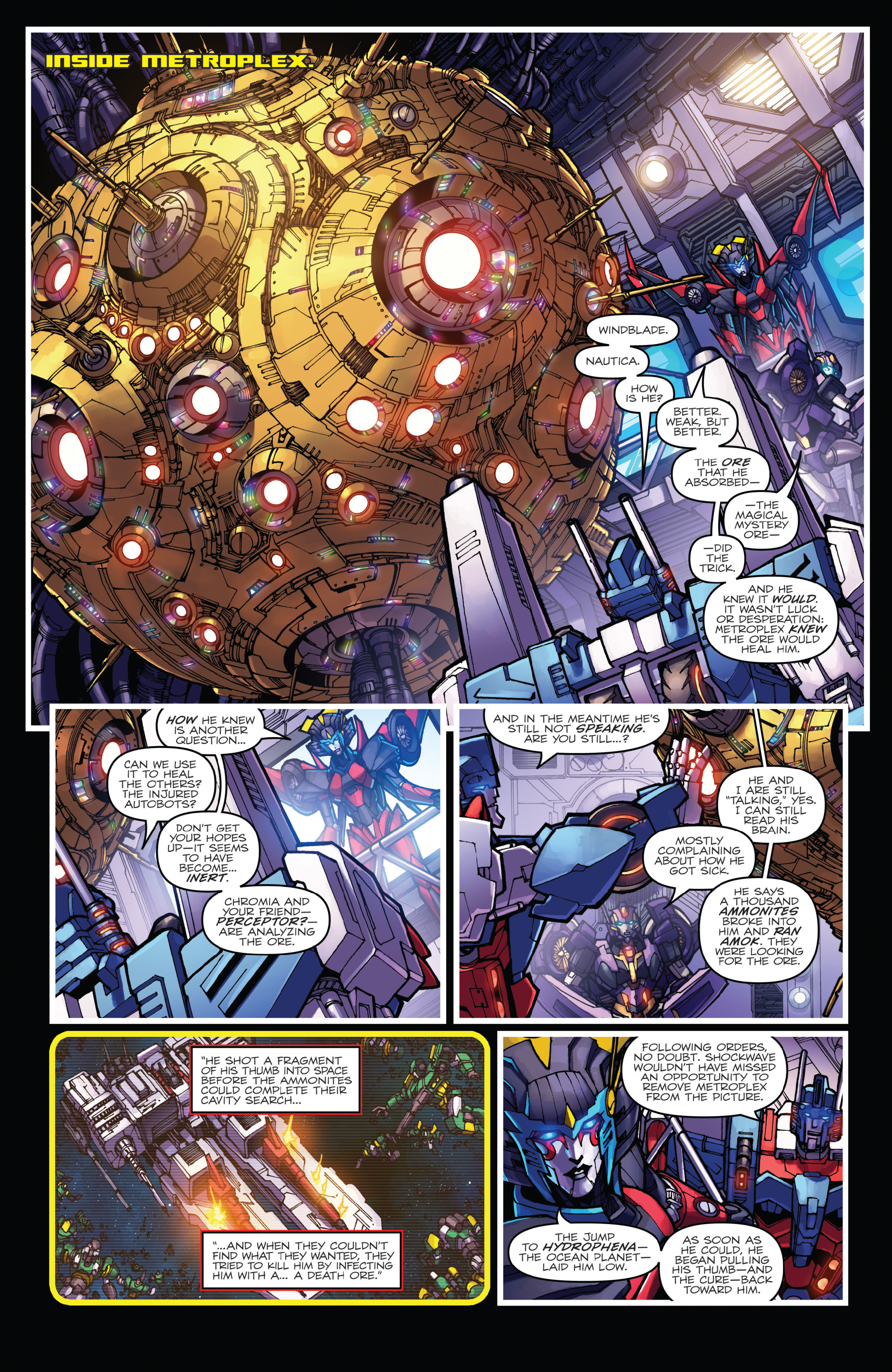 Read online The Transformers: Dark Cybertron Finale comic -  Issue # Full - 92