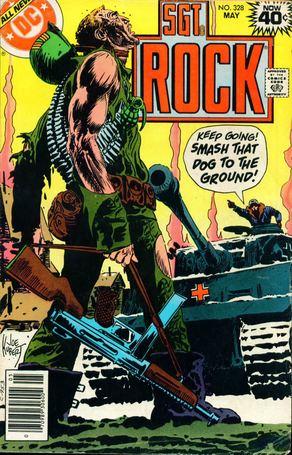 Read online Sgt. Rock comic -  Issue #328 - 1