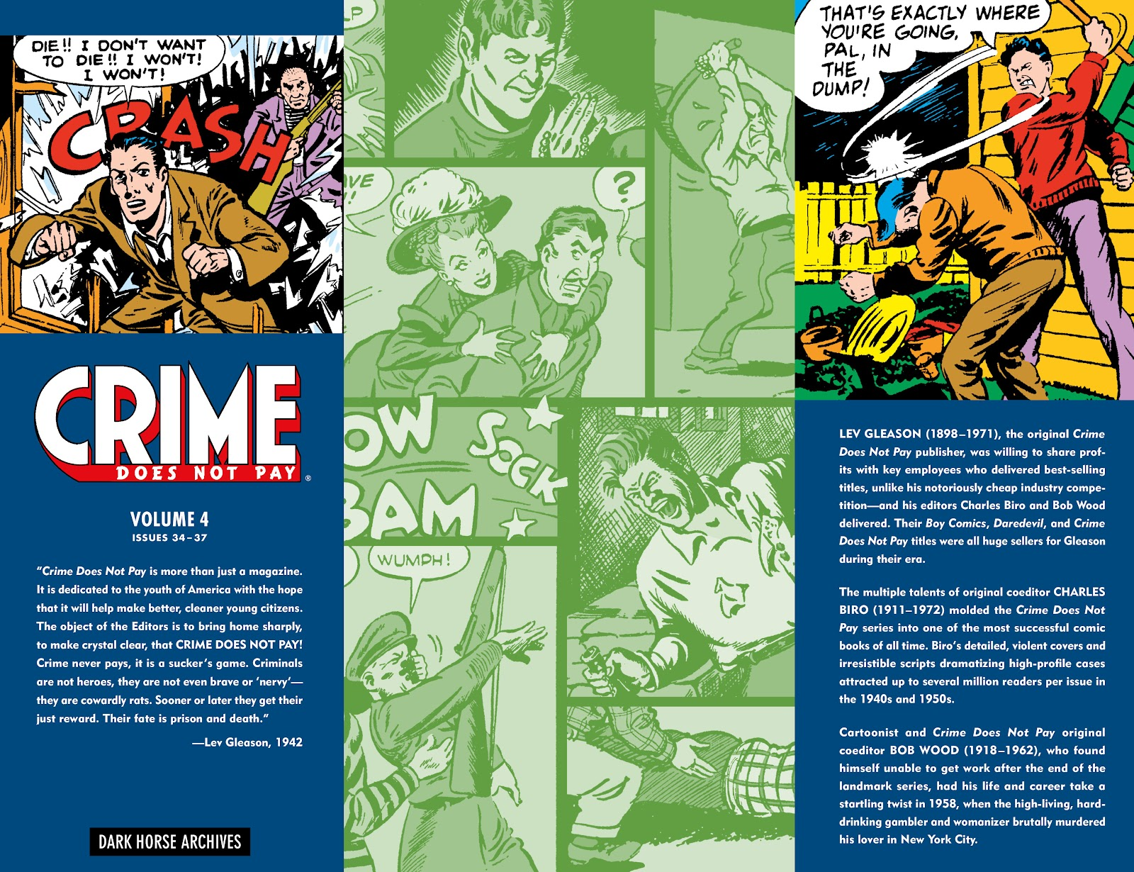 Read online Crime Does Not Pay Archives comic -  Issue # TPB 4 (Part 3) - 21