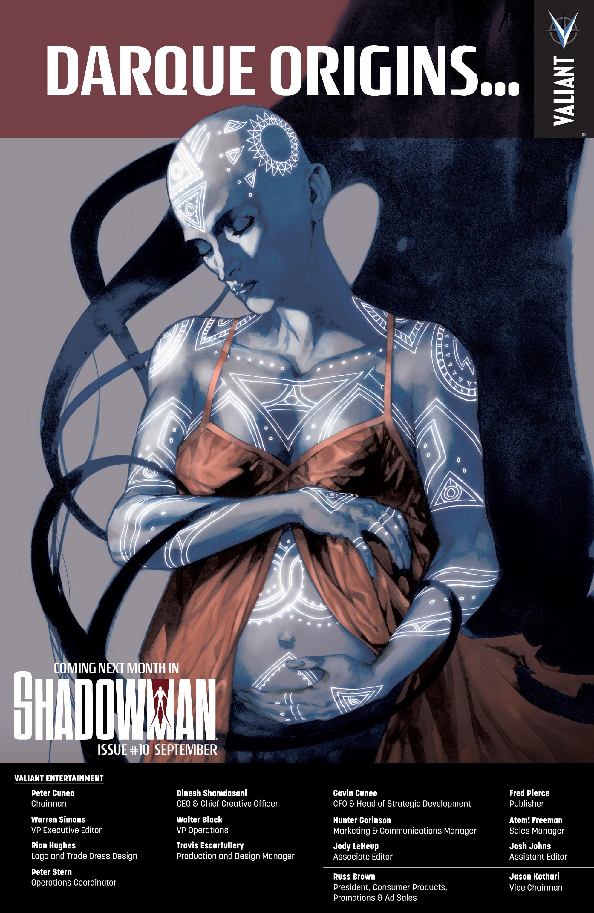Read online Shadowman (2012) comic -  Issue #9 - 25