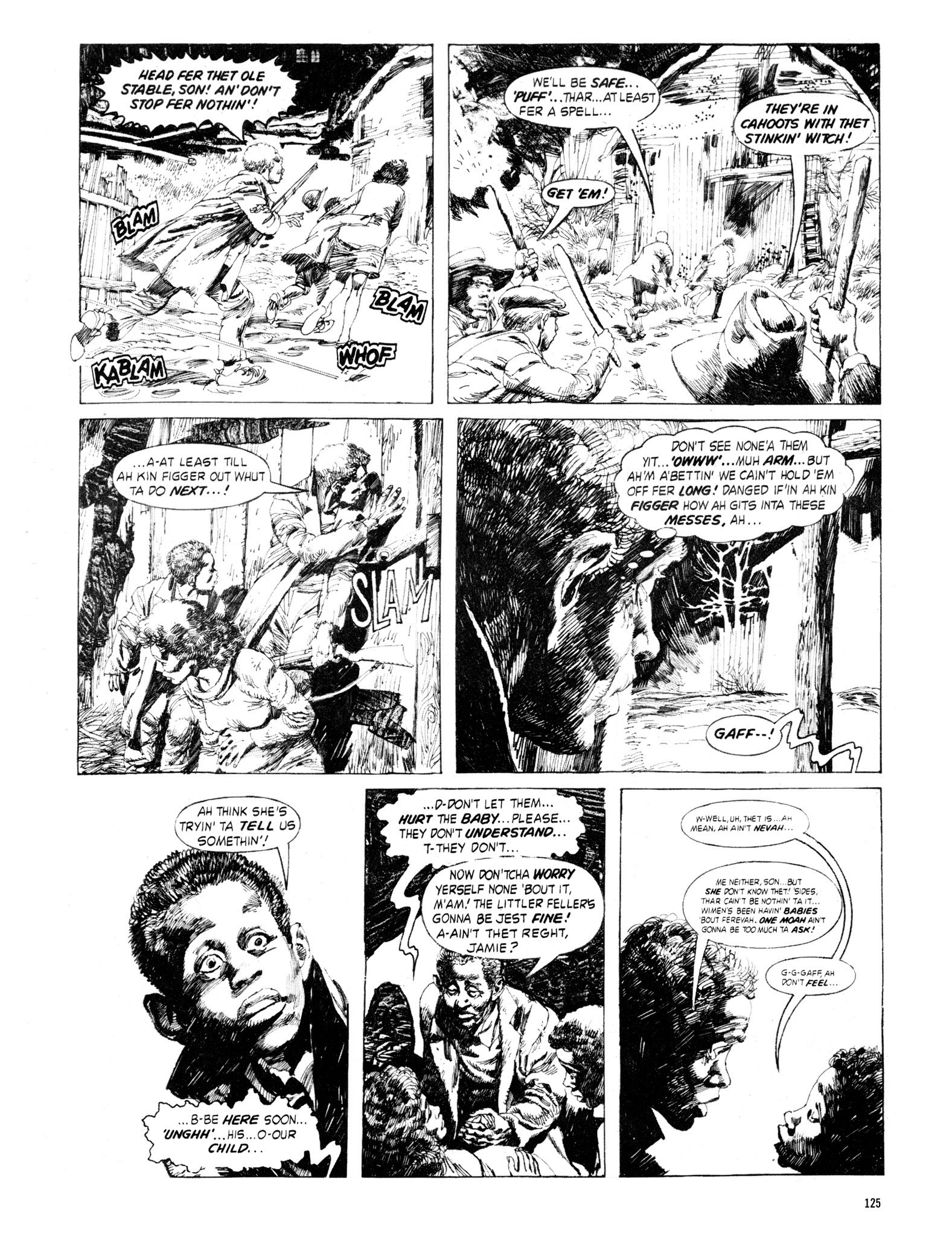 Read online Eerie Archives comic -  Issue # TPB 18 - 126